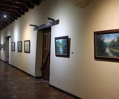 Interior de la Hacienda San Pedro
